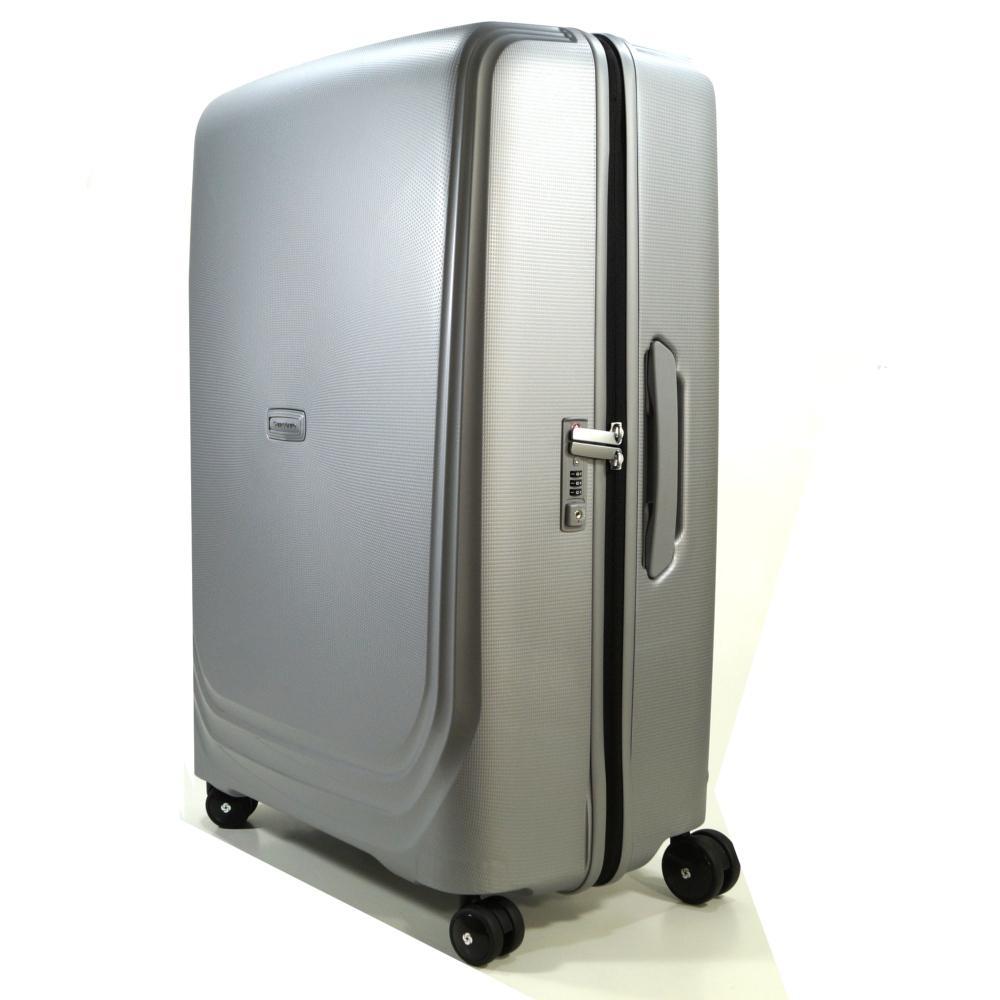 samsonite 72688 1546 optic spinner 75 cm silber trolley koffer 115 l kaufen bei city juwelier. Black Bedroom Furniture Sets. Home Design Ideas