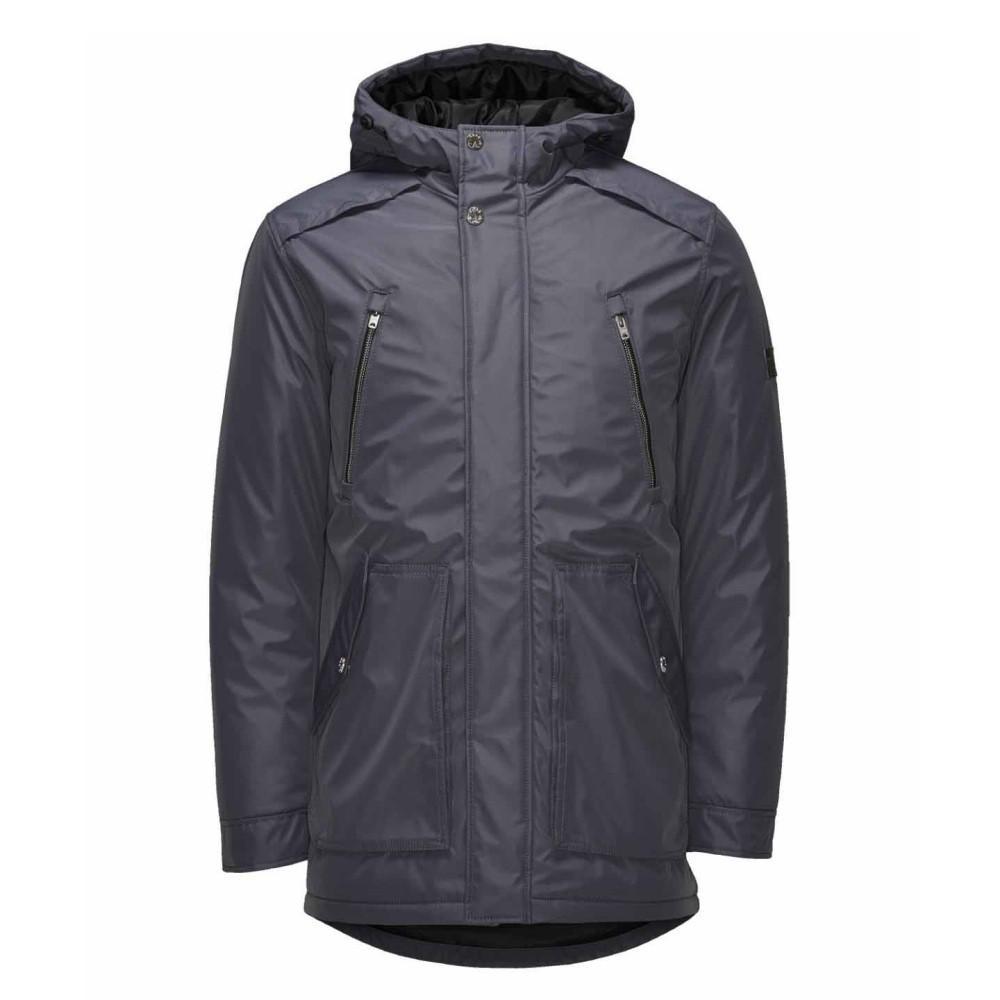 jack jones winter jacke herren wad parka winter jacket blau gr xl. Black Bedroom Furniture Sets. Home Design Ideas
