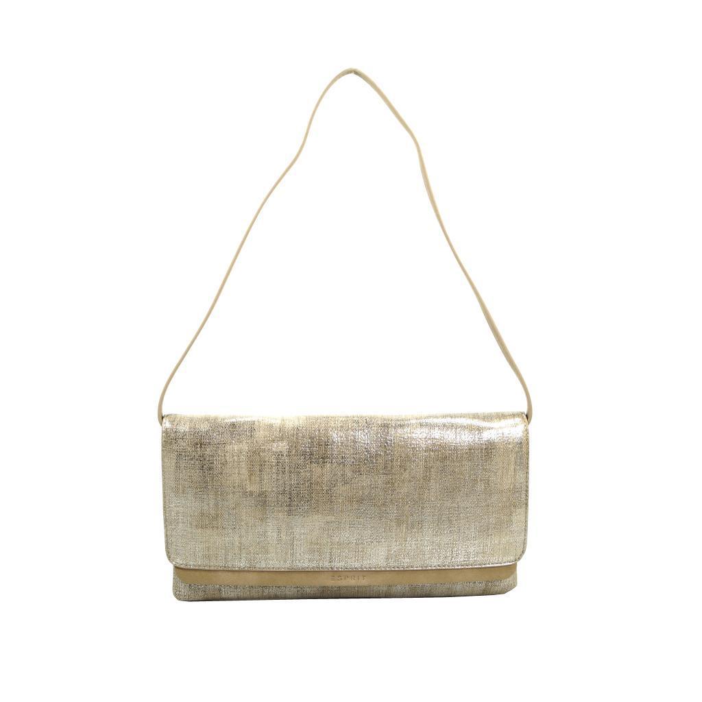 esprit peggy clutch bag braun gold handtasche tasche schultertasche kaufen bei city juwelier. Black Bedroom Furniture Sets. Home Design Ideas