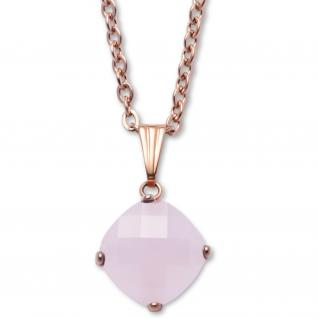gooix 415-05605 Damen Collier Edelstahl rosé rosa 45 cm