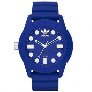 Adidas ADH3103 Uhr Herrenuhr Kautschuk blau