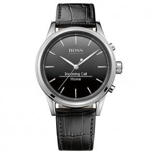 Hugo Boss 1513450 Smart Classic Uhr Herrenuhr Smartwatch Datum schwarz