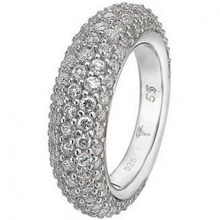Joop JPRG90566A Damen Ring Silber Audrey Zirkonia weiß Größe 57 (18, 1 mm)