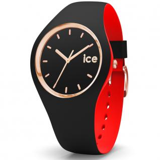 Ice-Watch 007226 CITY loulou black rose gold small Uhr schwarz
