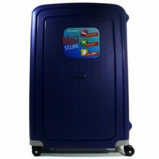 Samsonite 49308-1247 Trolley S-Cure Spinner Blau 75 cm Koffer Trolley