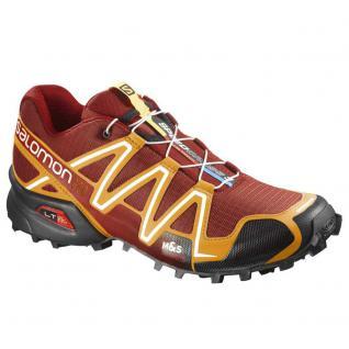Salomon Herren Schuhe Speedcross 3 376371 Sportschuhe Rot Größe 42