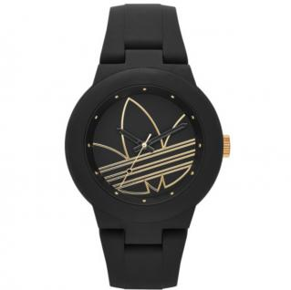 Adidas ADH3013 ABERDEEN Uhr Damenuhr Kautschuk schwarz