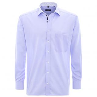Eterna Herrenhemd Langarm Modern Fit Blau Gr. XL/44 Hemd 8501/10/X37R
