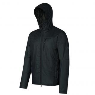 Mammut Winterjacke Jacke Herren Runbold IS Hooded Jacket Schwarz Gr. S
