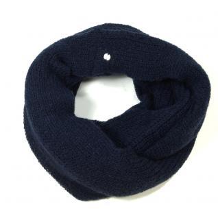 Esprit Schal Basic Knit Infini Blau 106EA1Q004-E400 Strickschal 94 cm