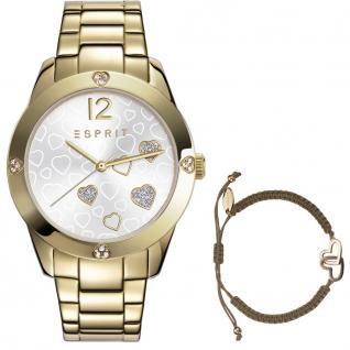 Esprit esprit tp-10887 gold Uhr Damenuhr vergoldet gold