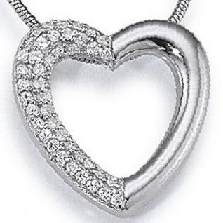 gooix 902-2228 Damen Anhänger Herz 925 Sterling Silber