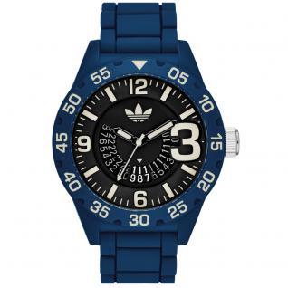 Adidas ADH3141 NEWBURGH Uhr Herrenuhr Kautschuk blau