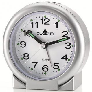 DUGENA 4460454 Wecker Alarm silber