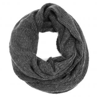 Esprit Schal COSY Knit Infin Grau 114EA1Q026-E005 Strickschal 84 cm