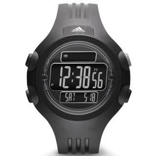 Adidas QUESTRA Uhr Herrenuhr Kunststoff Datum Alarm schwarz