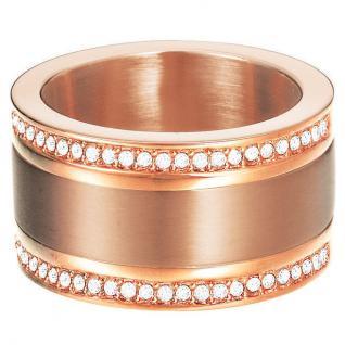 Esprit Damen Ring esprit-jw50035 Rose Edelstahl Zirkonia 53 (16.9)