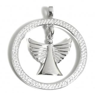 Angelsvoice AA-1015 Damen Anhänger Engel der Hoffnung Silber