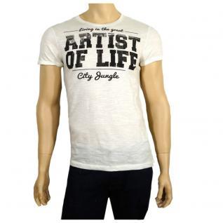 Authentic Style Herren T-Shirt Kurzarm 98-86 T-Shirt Weiß Gr. XXL