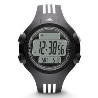 Adidas ADP6081 QUESTRA Uhr Herrenuhr Kunststoff Datum Alarm schwarz