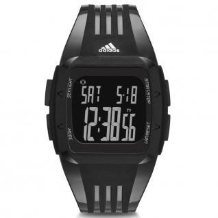 Adidas ADP6094 DURAMO Uhr Herrenuhr Kunststoff Datum Alarm schwarz