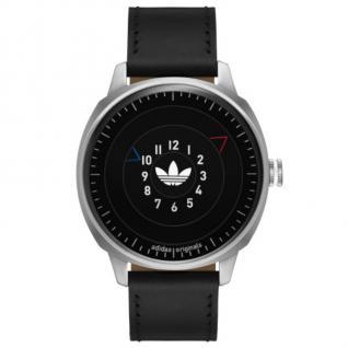 Adidas ADH3126 SAN FRANSICO Uhr Herrenuhr Lederarmband schwarz