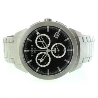 TISSOT T069.417.44.051.00 Chronograph Uhr Herrenuhr Titan silber