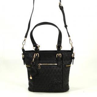 Desigual Bols Argentina Mini Carlota Schwarz Handtasche Tasche