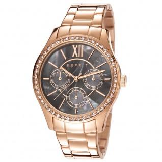 Esprit ESPRIT-TP10778 ROSE GOLD Uhr Damenuhr Edelstahl Datum rosé
