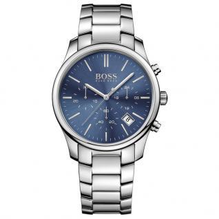 Hugo Boss 1513434 Time One Chronograph Uhr Herrenuhr Datum Silber