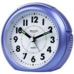 Regent 41-240-5 Wecker Analog Licht Alarm blau