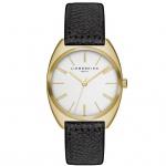 LIEBESKIND LT-0020-LQ Uhr Damenuhr Lederarmband schwarz