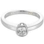 Esprit ESRG91794A Damen Ring Silber globe mit Zirkonia weiß besetzt Größe 50 (16, 0 )