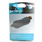 Samsonite 45584-1374 Eye shades&ear plugs Schlafbrille mit Ohrstöpsel