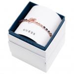 GUESS UBS21505-S Damen Armband Metall rose Zirkonia blau 20 cm