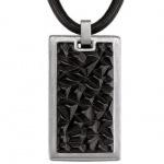 Esprit ESNL11785A450 Herren Halskette Collier black brick schwarz