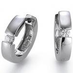 gooix 935-1147 Damen Creolen 925 Sterling Silber