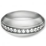 Esprit 4428285 Damen Ring Silber ana +Zirkonia weiß Größe 56 (18.0 )