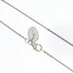 gooix 914-973 Damen Kette Silber Ankerkette 50 cm