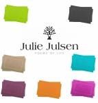 2er Set Julie Julsen Badvorleger Duschvorleger Doppel Rahmen