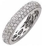 gooix 943-3256 Damen Ring Silber mit Zirkonia weiß Größe 56 (17, 8 mm)