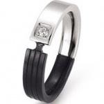 gooix 444-2098 Damen Ring Edelstahl 57 (18.1)