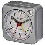 Regent 40-901-19 Wecker Analog Licht Alarm silber