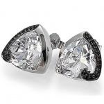 Basic Silber 01.EX420 Damen Ohrstecker Silber