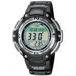 CASIO SGW-100-1VEF Uhr Herrenuhr Silikon Datum Alarm Digital schwarz