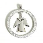 Angelsvoice AA-1016 Damen Anhänger Engel der Erkenntnis Silber