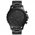 FOSSIL Q FTW1115 Fossil Q NATE HYBRID Smartwatch Datum Alarm schwarz