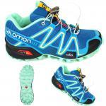 Salomon Damen Schuhe Speedcross 3 W Blau 369820 Trail Schuhe 36 2/3