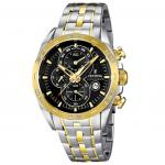 FESTINA F16655/5 SPORT Chronograph Uhr Herrenuhr Stahl bicolor gold