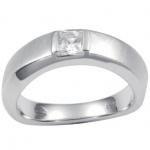Fossil JF14631 Damen Ring Silber Gr. 50 (16) JF 14631